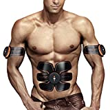 AILIDA ABS Stimulator Muscle Toner Abdominal Toning Belt Workouts Portable AB Training Home Office Fitness Equipment for Abdomen/Arm/Leg Training Men Women