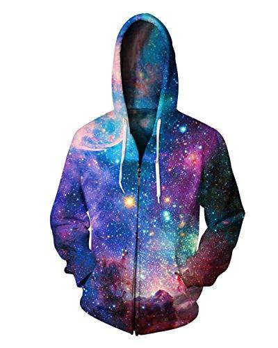 Zipper Fleece Sweatshirt - 1
