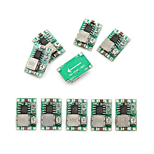 5PCS Mini-360 Model depressurization Module DC Ultra Small Power Module Vehicle Power Supply Super LM2596