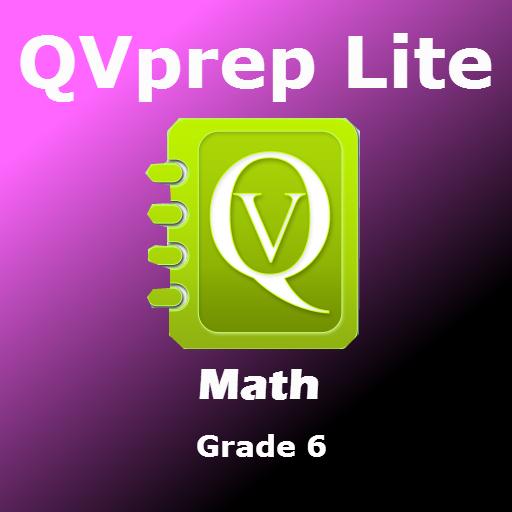 Amazon.com: QVprep Lite Math Grade 6 Practice Tests with Video ...