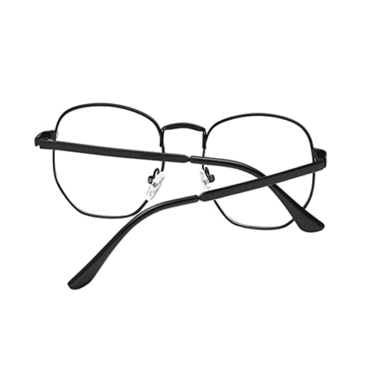8bc29ff50c Xinvision Retro Big Metal Frame Nearsighted Glasses Short Sight Vintage  Style Myopia Eyeglasses -1.00-1.50 -2.00-3.50 -4.50-5.50 -6.00 (These are  not ...