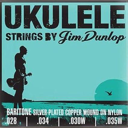 Dunlop DUY304 Baritrone Professional Ukulele Strings, 4 Strings/Set