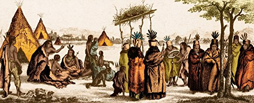 - Posterazzi Native American Life 19th Century Poster Print by Science Source (24 x 18) Varies