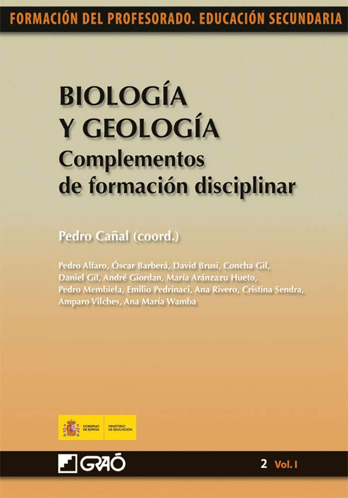 Biología y Geología. Complementos de formación disciplinar: 021 ...