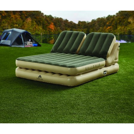Amazon.com: Ozark Trail`` Dual Incline Queen Adjustable Airbed w