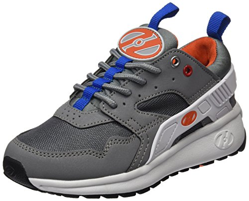 Heelys Force, Zapatillas Unisex Niños Varios colores (Grey /   White /   Orange)