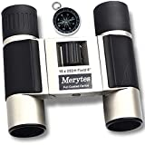 Binoculars with 10×25 Portable High Definition and Compass by Merytes Binoculars for Adults For Sale