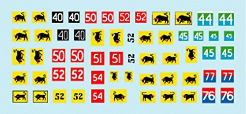 STAR Decals 1 : 35 British 11th Armoured Division Formation & Aos Markings # 35970   B017LCUUYK
