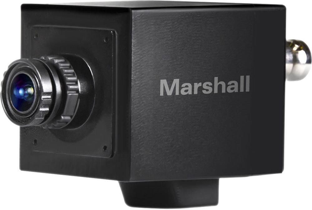 Marshall CV505-M Full-HD 3G/HD-SDI 2.5MP Mini-Broadcast POV Camera (50/60/25/30 fps) with 3.7mm 2MP Lens, 2.5 Megapixel 1/3-inch CMOS Sensor, Horizontal Resolution 1000TVL
