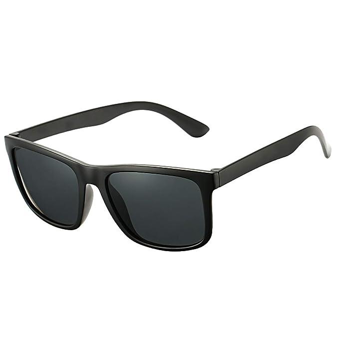 Amazon.com: Gafas de sol DeBuff unisex polarizadas retro ...