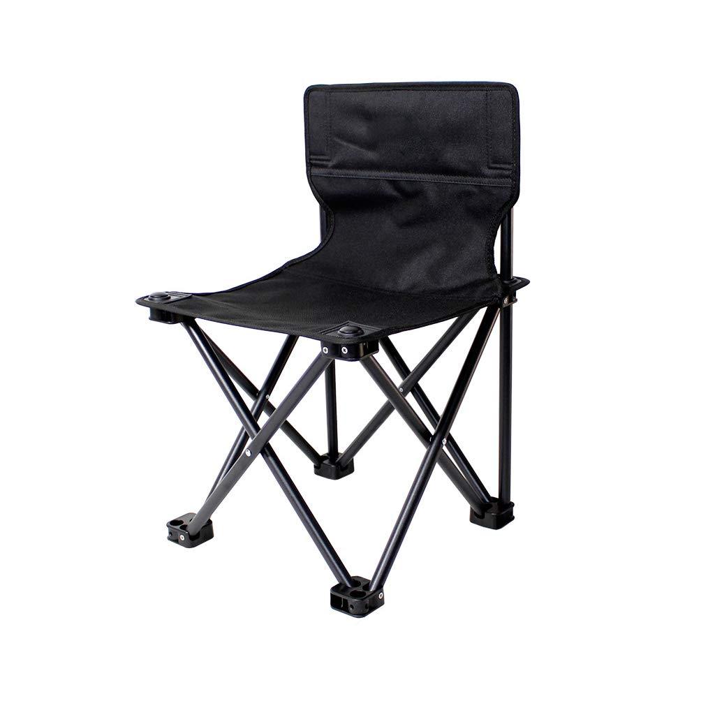 キャンプチェア アウトドア折りたたみ椅子 ポータブルバックレストチェア ハイカービーチ釣り キャンプ スケッチシート/3サイズ/最大負荷150kg (330ポンド) 42x42x63cm  B07LF7BRJ1