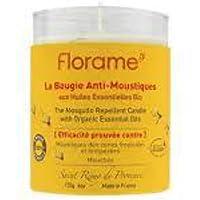 FLORAME Bougie anti-moustiques 100% naturelle -
