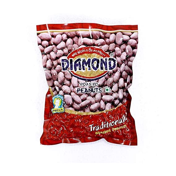 Diamond Roasted Peanuts - Vacuum Pack of 8, 200 GMS Each