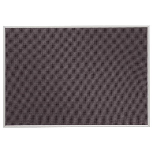 Quartet Matrix Modular Bulletin Board, 23 x 34 Inches, Gray (B3423)