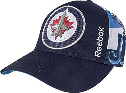 46afd2931 Amazon.com : Winnipeg Jets Snapback Hat By Reebok - VK55Z : Sports ...