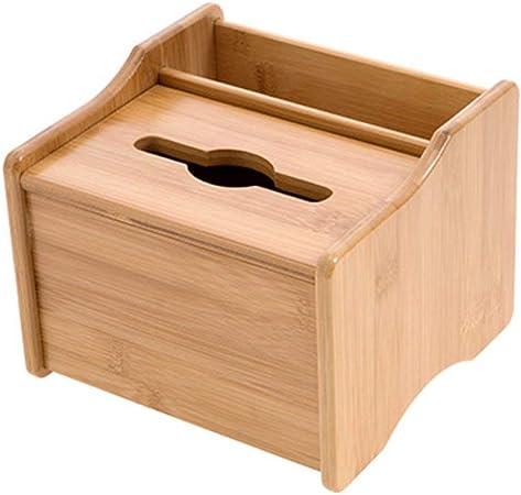 MultifuncióN Estante Almacenamiento Baldas Debajo de la canasta, Madera de bambú Caja de almacenamiento de escritorio Caja de pañuelos Debajo de la estantería de almacenamiento del gabinete for el arm: Amazon.es: Hogar
