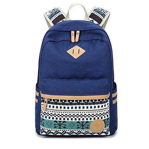laptop donne casual Zaino viaggio da per scuole le Dark Blue ragazze per Daykpack viaggio Printang per Zaino Zaino da le Zaino Zaino per AR7fEyA