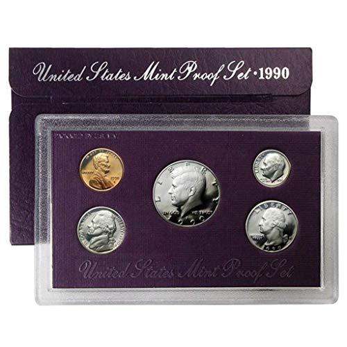 1990 S United States Mint Proof Set Proof