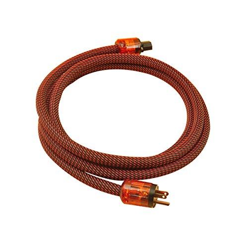 WAudio Hi-End Hifi Audio AC Power Cable Power Cord US Plug - 5FT (1.5M) …