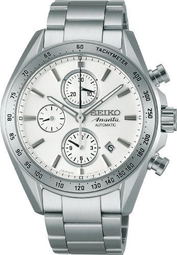 SEIKO BRIGHTZ Reinforced waterproof automatic winding with manual winding Sapphire glass super clear coating Men's watch SAEH013 [Japan Import]