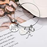 IEFIL Sister Gifts from Sister Bracelets, Stainless