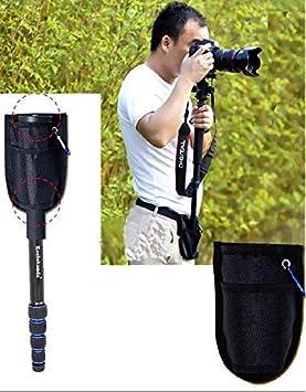 Koolehaoda Professional 65.3-inch Camera Aluminum Monopod MP-285L Blue 5-Legs Sections 17.6 lbs Load Capacity.