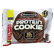 Muscletech Products - Protein Cookie Soft Baked Triple Chocolate - 3.25 oz.
