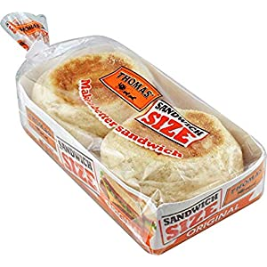 Thomas' Sandwich Size English Muffins – 2 Packs
