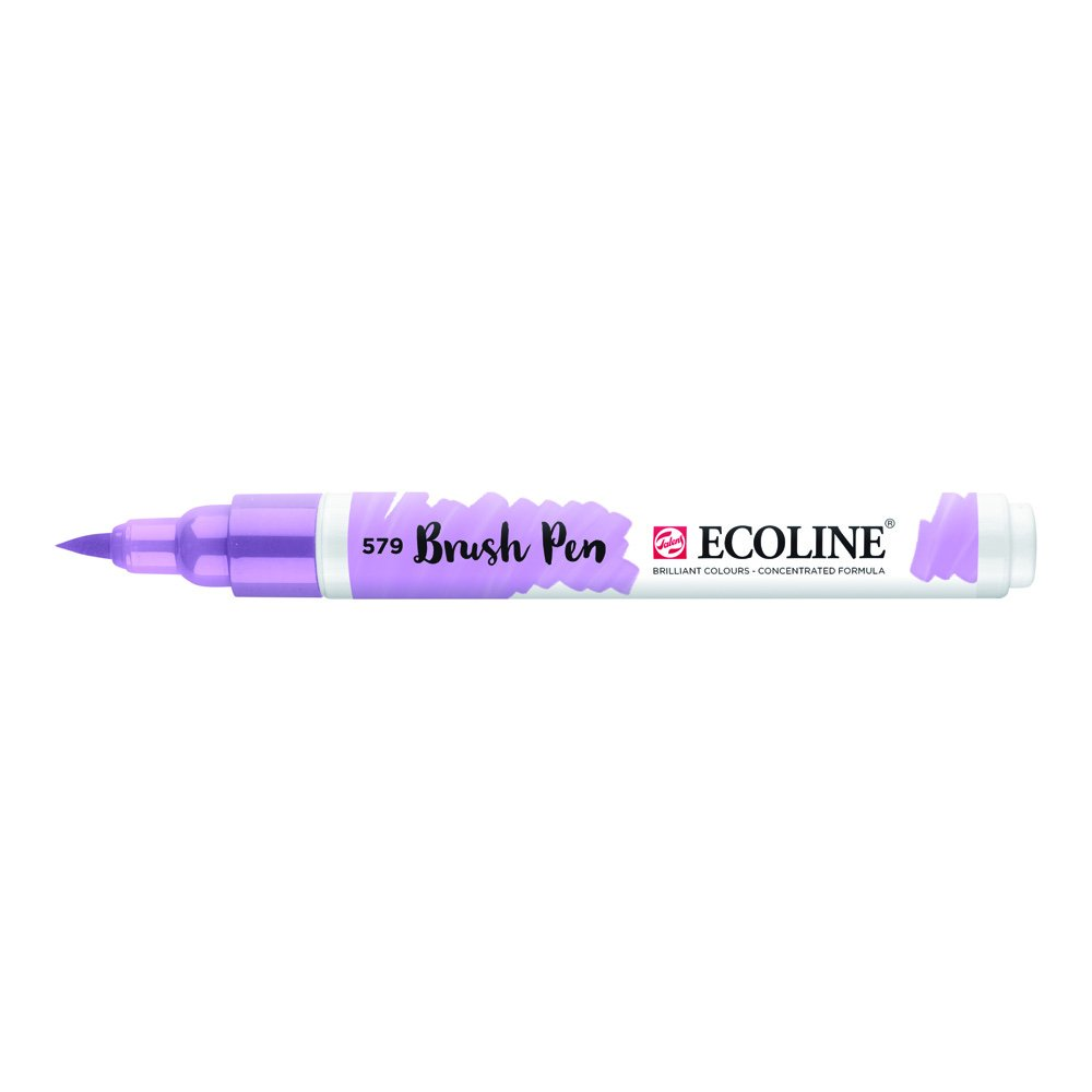 Ecoline Liquid Watercolor Brush Pen Pastel Violet (11505790) ROYAL TALENS NA INC