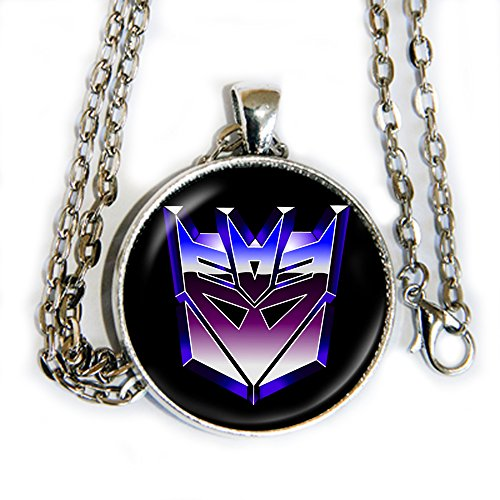 Arcee Transformers Prime Costume (Decepticons pendant necklace - transformers - HM)