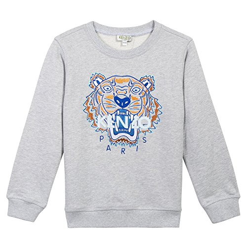 Kenzo Tiger 42 Boys Tiger Face Sweat Shirt by Kenzo