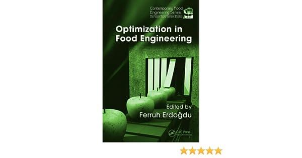 Optimization in Food Engineering (Contemporary Food Engineering)