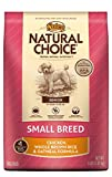 Nutro Natural Choice Small Breed Senior Chicken Whole Brown Rice And Oatmeal Dry Dog Food, 4 Lbs.