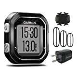 Garmin Edge 25 GPS Cycling Computer 010-03709-20 and Garmin Cadence Sensor 010-12102-00 with extra Wearable4U Wall Charging Adapter Bundle