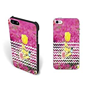 Cute Bird with Colorful Chevron Pattern Design for Case For Sam Sung Note 3 Cover Hard Plastic Shell Personalized (yellow tulip blacks1177)