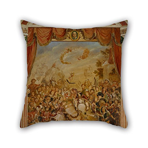 [Slimmingpiggy Pillowcase 16 X 16 Inches / 40 By 40 Cm(each Side) Nice Choice For Home Office,floor,drawing Room,seat,divan,her Oil Painting George Cruikshank - The First Appearance Of William] (Magic Mike Baby Costume)