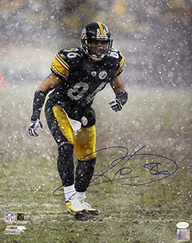 Hines Ward Autographed/Signed Pittsburgh Steelers 16x20 Photo JSA