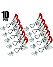 M-Aimee 10 PCS 360 Lbs Adjustable Toggle Clamp 4001 Hand Tool Quick Release Heavy Duty Capacity Latch Type