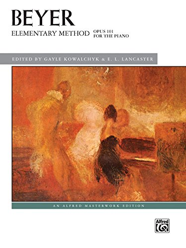 Elementary Method for the Piano, Op. 101 (Alfred Masterwork Edition)
