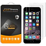 [2-Pack] Supershieldz for iPhone 6 / 6S Tempered Glass Screen Protector, Anti-Scratch, Anti-Fingerprint, Bubble Free, Lifetime Replacement Warranty