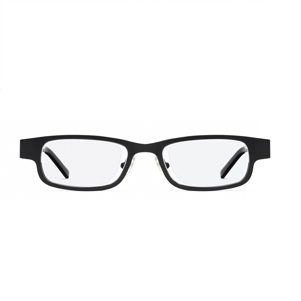Eyejusters Self-Adjustable Glasses, Black, Stainless Steel by EYEJUSTERS
