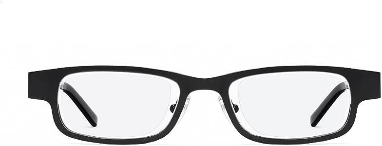 Eyejusters Self-Adjustable Glasses, Black, Stainless Steel