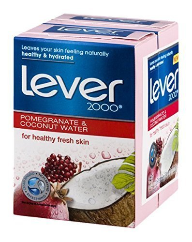 Lever 2000 Refreshing Bars Pomegranate & Coconut Water - 2 ct (Coconut Pomegranate)