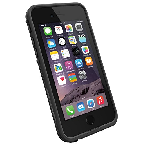 Lifeproof Fre Iphone 6 Only Waterproof Case  4 7  Version    Retail Packaging   Black Black