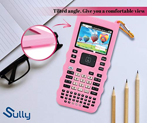 Sully Silicone Skin for Ti Nspire CX/CX CAS Handheld (Pink