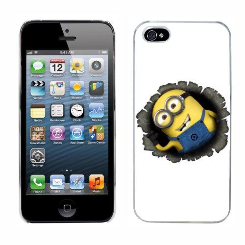 Moi moche et méchant Despicable Me Minions Film cas adapte iphone 5 couverture coque rigide de protection (10) case pour la apple i phone