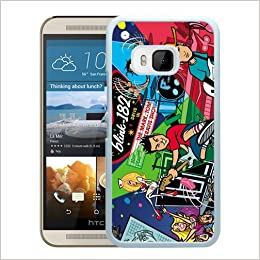 Blink 182 Cartoon White Shell Phone Case for HTC ONE M9