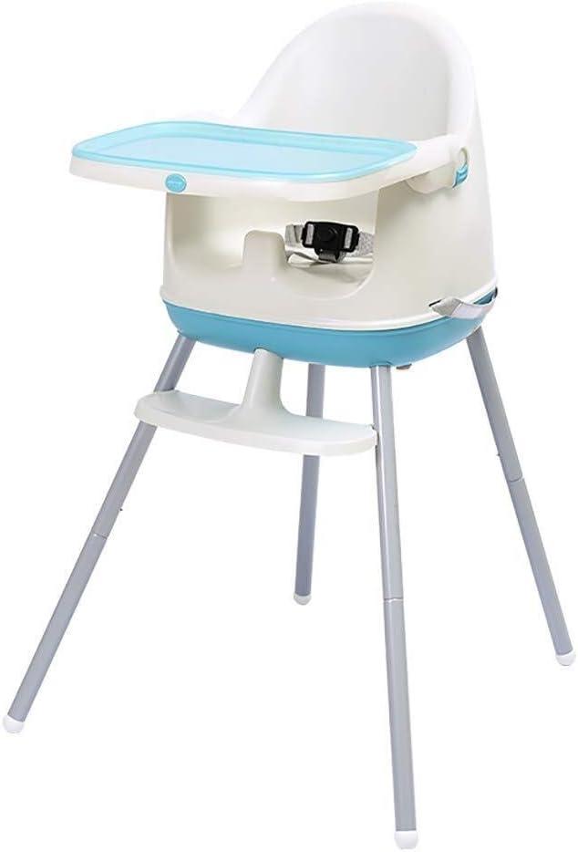 HTZ 調節可能なテーブル&取り外し可能なトレイとの完全なトレイストレージを1枚の折りたたみ給餌シート、ベビーチェア高低中高チェア3