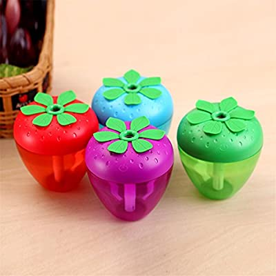 Efaster Chic Strawberry Home Aroma LED Humidifier Air Diffuser Purifier Atomizer