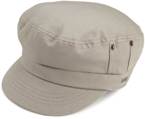 Kangol Men's Canvas Fisherman Cap, Putty, Small